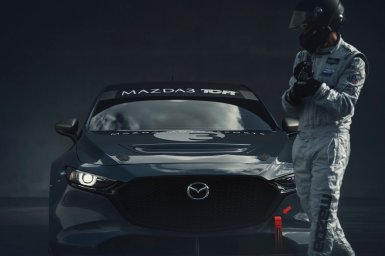 El Mazda3 TCR es la versión destinada a las carreras de turismos: 350 CV de potencia con un motor sobrealimentado