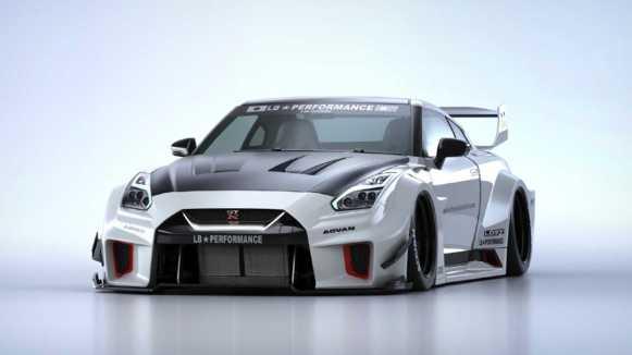 Este kit de carrocería de Liberty Walk para el Nissan GT-R es tan caro como un GT-R usado