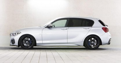 Manhart lleva al BMW Serie 1 (F20) M140i hasta los 435 CV y 644 Nm de par