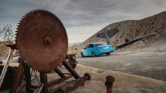 El Mercedes Clase E 2020 comienza a mostrarnos su aspecto... aunque no por completo