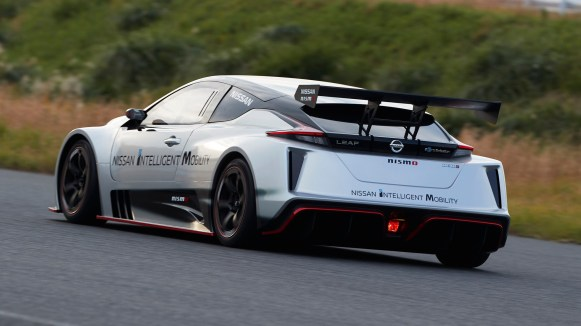 El Nissan Leaf NISMO RC hace su debut europeo en el Circuito de Ricardo Tormo