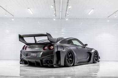 LB-ER34 Super Silhouette Skyline: El espectacular Nissan GT-R de Liberty Walk con 2.039 CV