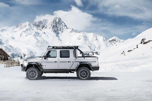 BRABUS 800 Adventure XLP: 789 CV para ir al fin del mundo