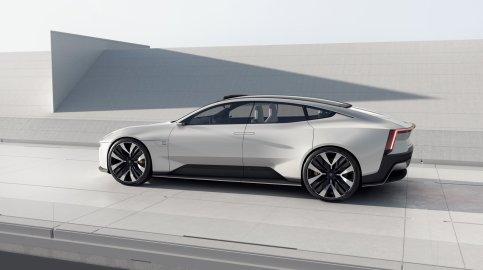 Polestar Precept Concept: 100% eléctrico y con Android Automotive