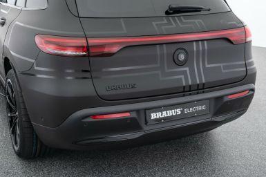 BRABUS también prepara Mercedes eléctricos, y este EQC es la prueba de ello...