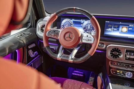 El Mercedes-Benz G63 AMG de Hofele no cuenta con más potencia, pero sí con seis plazas