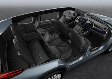 El Toyota Highlander es un SUV de siete plazas híbrido que llegará a Europa en 2021