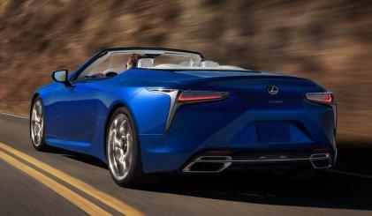 El Lexus LC 500 Cabrio desembarca en España... a un precio no apto para todos los públicos