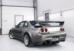 Este Nissan Skyline GT-R R33 de Veilside es tan caro como espectacular