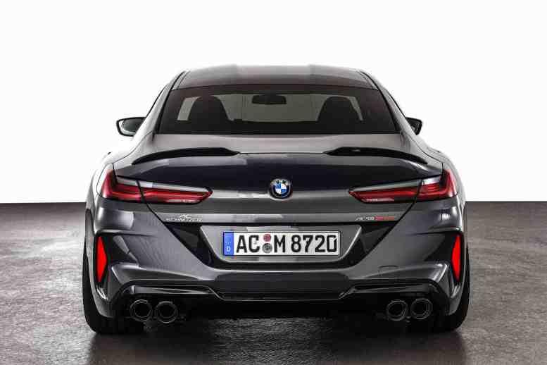 El BMW M8 Competition Gran Coupe pasa por el rodillo de AC Schnitzer