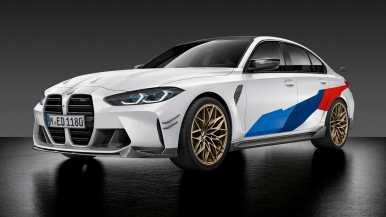 Los accesorios M Performance aterrizan en los BMW M3 y BMW M4 y lucen así