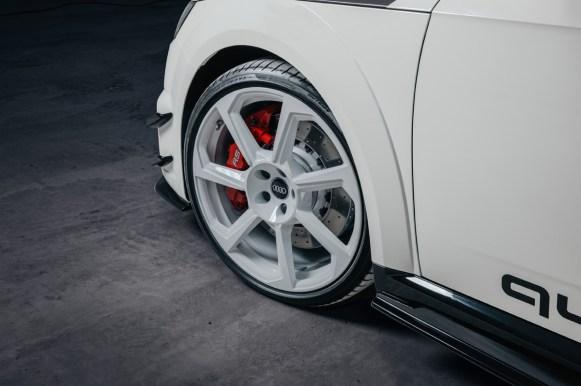 Audi TT RS 40 years of quattro: 40 unidades para celebrar el 40 aniversario de la tracción quattro