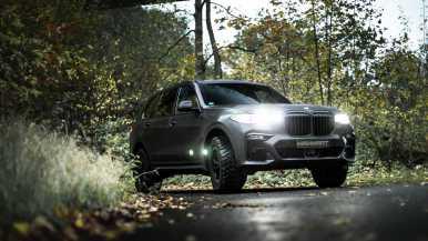 MANHART MHX7 650 Dirt Edition: Afilando los colmillos al BMW X7 M50i