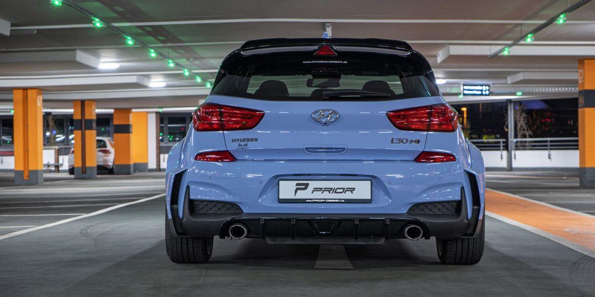 El Hyundai i30 N gana musculatura tras pasar por el gimnasio de Prior Design