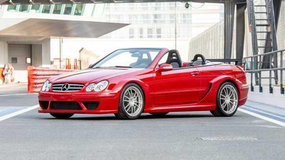 El Mercedes-Benz CLK DTM AMG Cabriolet es una rareza, pero ahora puedes hacerte con uno