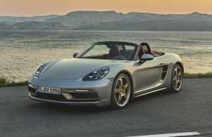 Porsche Boxster 25º Aniversario: Edición especial basado en el GTS