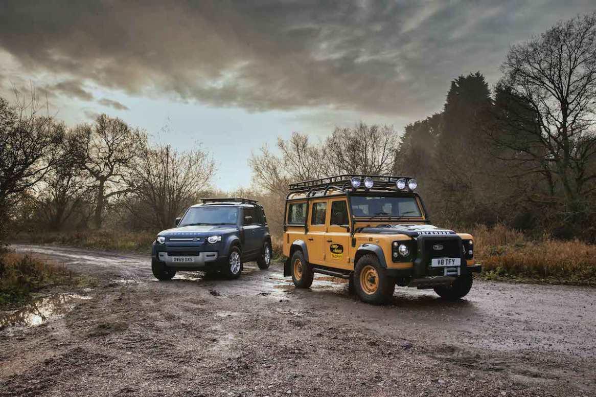 Land Rover Defender Works V8 Trophy: El Defender clásico resucita con un motor V8