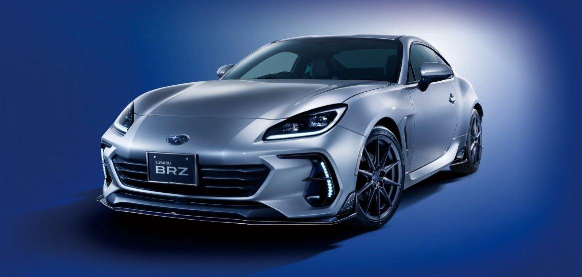 El Subaru BRZ 2022 recibe accesorios originales de STI