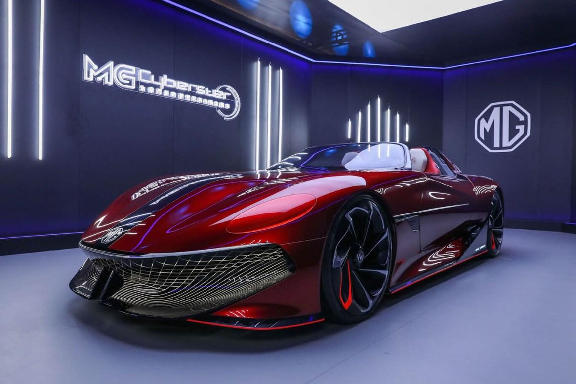 MG Cyberster Concept: Así es como ve MG al roadster del futuro