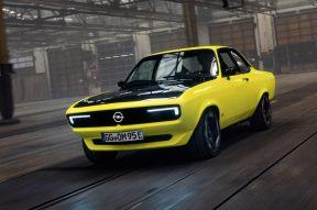 Opel Manta GSe ElektroMOD: El Manta se vuelve eléctrico en este one-off