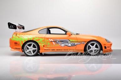 Un récord que quita el hipo: Alguien ha pagado 550.000 dólares por el Toyota Supra de Fast & Furious