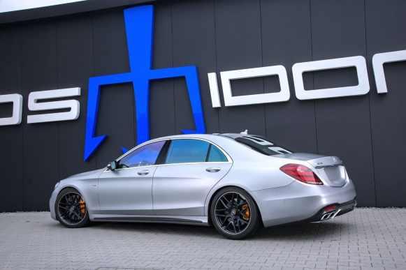 940 CV para el Mercedes-AMG S 63 4MATIC+ L de Posaidon