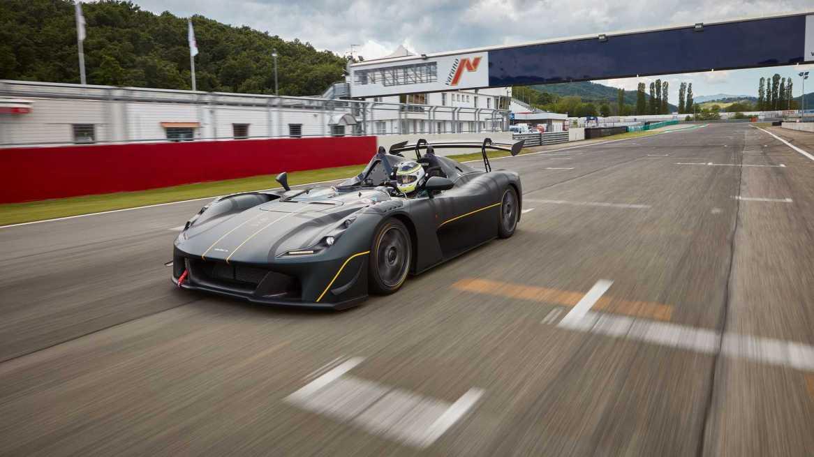 Dallara Stradale EXP: La versión circuitera con 500 CV