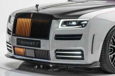 El Rolls-Royce Ghost se vuelve más macarra de la mano de Mansory