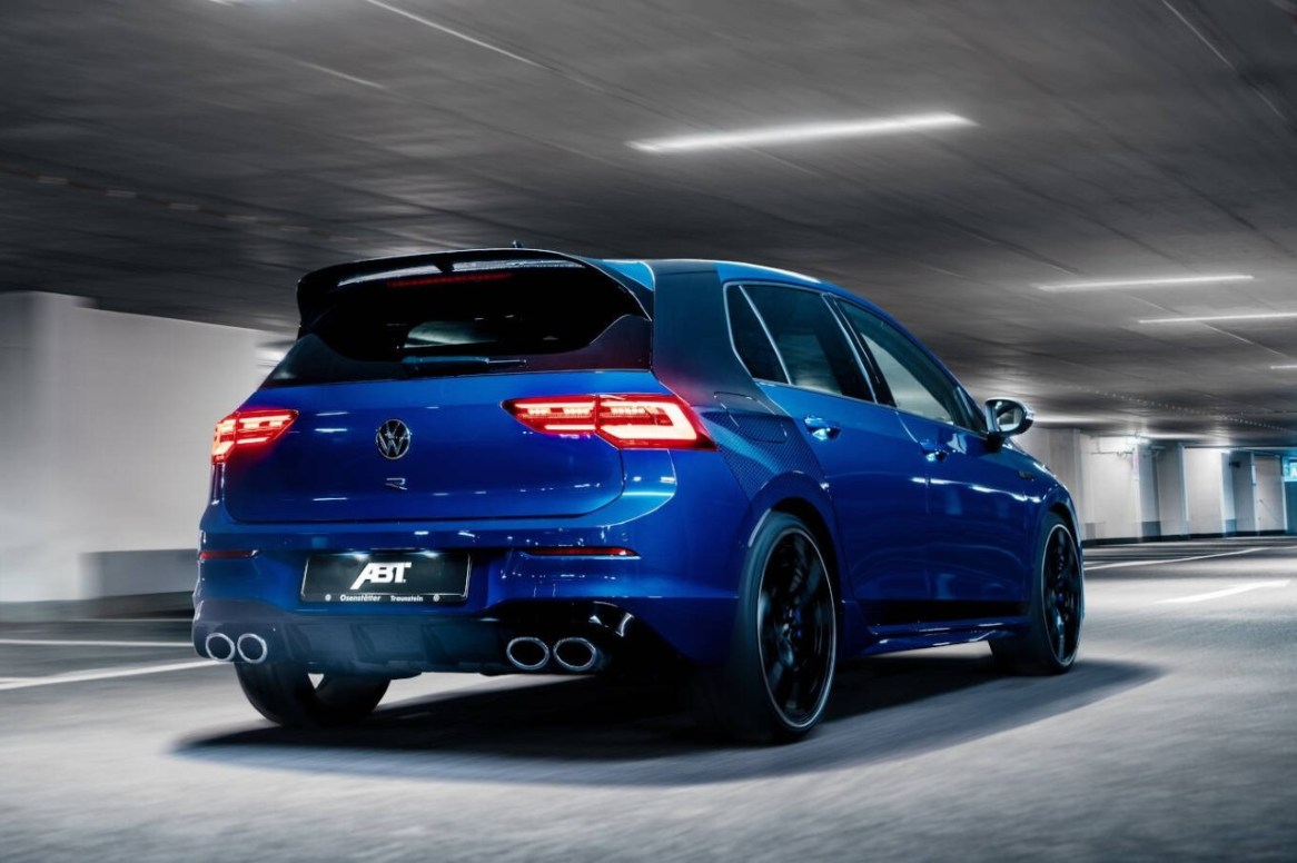 Volkswagen Golf R MK8 por ABT: Con 384 CV de potencia