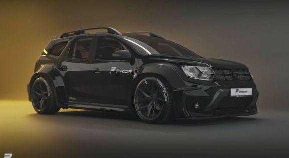 Priori Design lanza su kit de carrocería para el Dacia Duster