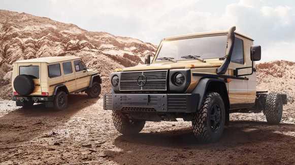 Mercedes-Benz W464: El Clase G para uso militar