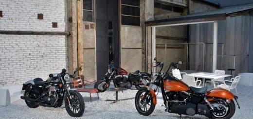 Harley-Davidson © -Dark Custom™ models