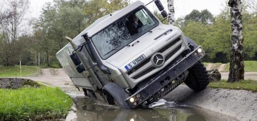 Mercedes-Benz-Unimog-U