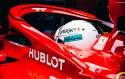 Halo test Ferrari