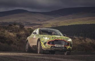 Aston Martin in strada