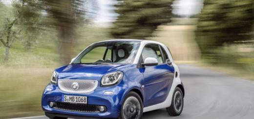 Fortwo e Forfour smart