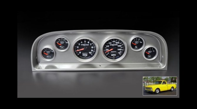 motorator  new instrument panels for 19601963 chevy pickup