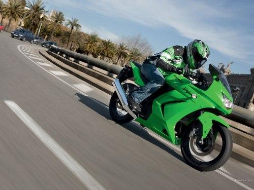 kawasaki ninja 250r bikes