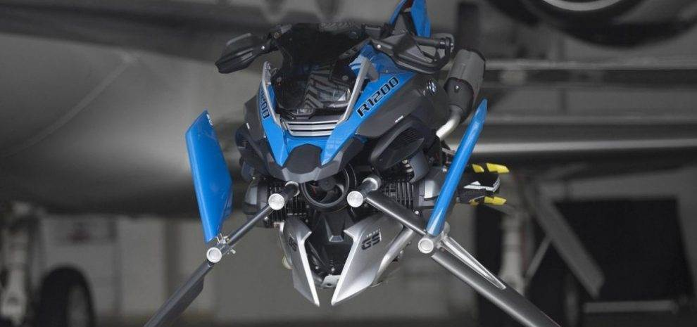 Bmw 1200 Gs Adventure 2018 >> BMW R 1200 GS - A Flying Motorcycle Concept from a LEGO Model | Motorbike Fans