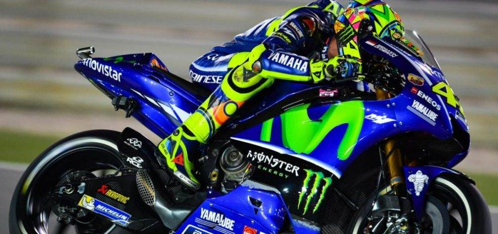 The New Michelin Front Tire, The Biggest Problem for Rossi in Qatar ...
