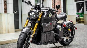 SORA - A Powerful Electric Motorcycle