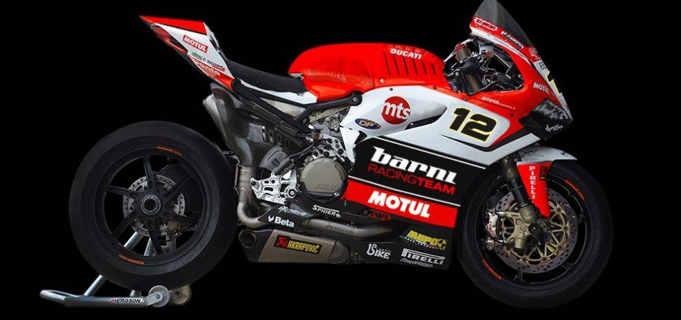 2 Ducati Panigale V4 In 2018 For Barni Racing Team Motorbike Fans