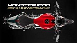 Ducati Monster 1200 25th Anniversario