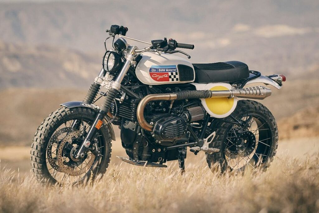 Fuel Motorcycles Coyote A Spectacular Bmw R Ninet Urban G S
