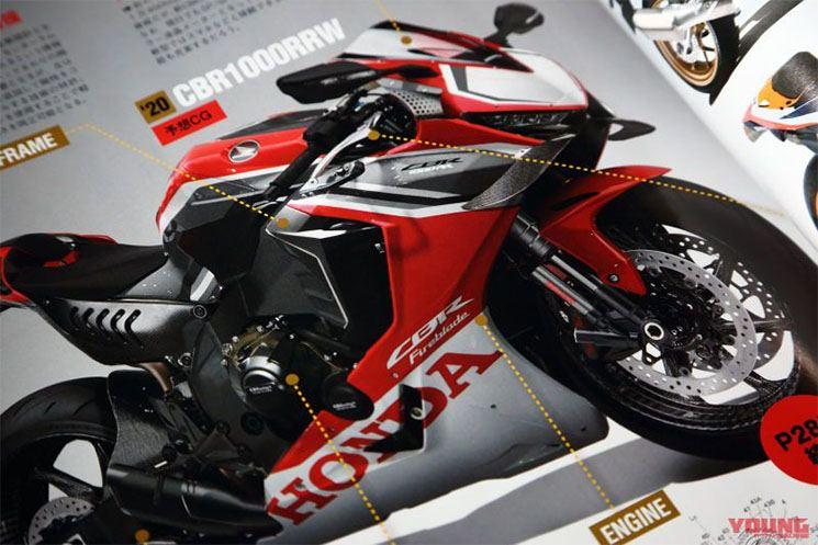 Honda CBR1000 RR Fireblade SP2