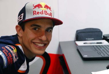 Marc Marquez Writes On TALENT