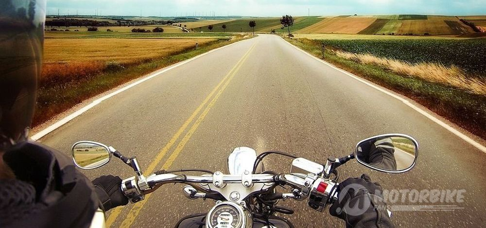 Traveling Alone on a Motorcycle in Spain