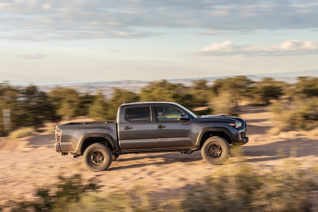 do the toyota tacoma and toyota 4runner