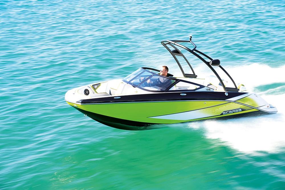 Scarab Boats 195 HO Impulse - Depar Motor
