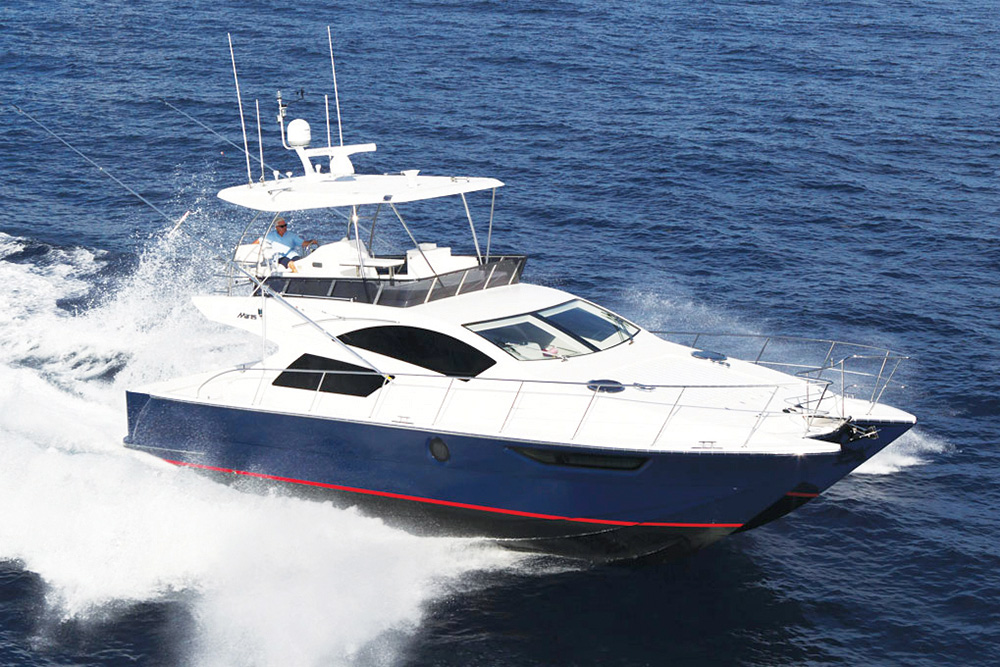 Mares 45ft Yacht Fish - Skiper.org